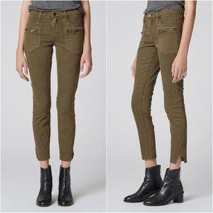 BLANKNYC Wannabe Zipper Green Cargo Pants size 25